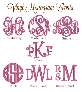Vinyl Fonts Tinytulip Com We Re All About Personalization